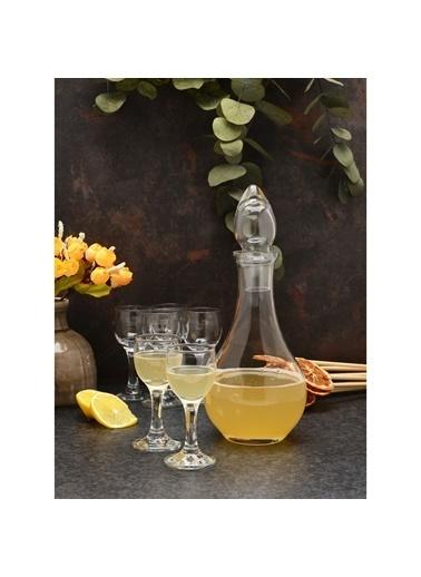 Paşabahçe 7 Prç. Ayaklı Kahve Yanı Su Bardağı - Küçük Su Bardağı Renksiz